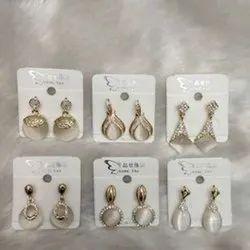 Brass Hanging Festive Wear Fashion Traditional Earring
