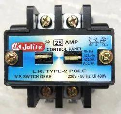 Power Contactors 2 Pole 25 Amp