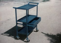 Hydro Stainless Steel Tray Trolley