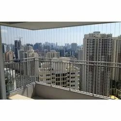 MS Balcony Security Grills, For Residential & Commercial