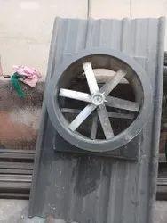 FRP industrial fan