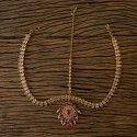 Wedding, Engagement Ruby, Lct Antique Mehndi Plated Classic Damini 203212