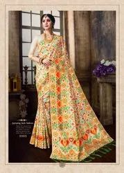 Wedding Wear Fabulous Designer Trendy Soft Silk Sarees