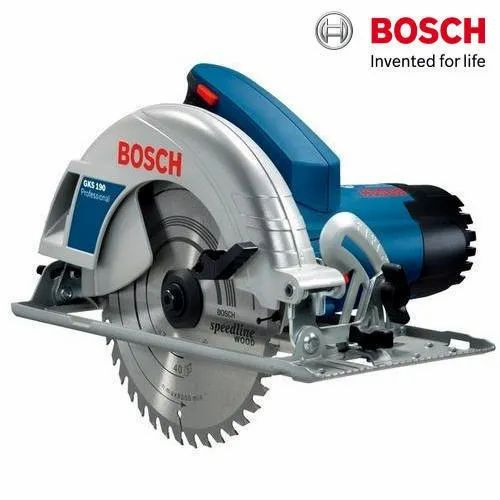 Bosch GKS 190 Professional Hand Held Circular Saw, 1400 W, 5500 rpm