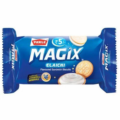 Parle Magix Elaichi Cream Round Biscuit