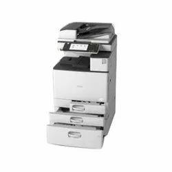 Colored Ricoh MP C2011 Multifunction Printer, Laserjet