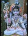 God Shiva Marble Statue