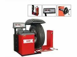 Fully Automatic Truck Wheel Balancer, For Garage, 220v