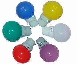 LED Deco Nite Lamp R/G/Y/W/b Crompton Make