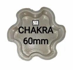 Chakra Silicone Plastic Paver Mould