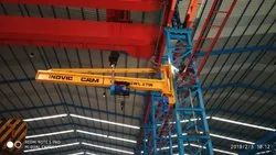 Single Girder Floor Mounted Jib Crane