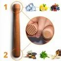 Sheesham Wooden Muddler Bar Tool Mojito Muddler With Flat Head
