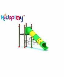 Outdoor Playground Equipment Tube Slide Rotomolded LLDPE KP-KR-621