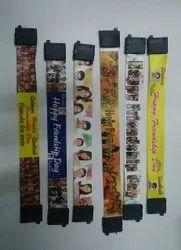Multicolor Casual Wear Satin Wristbands, Size: 10 inch