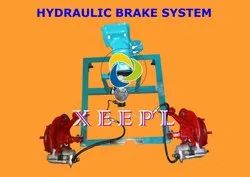 Cut Section Model of Hydraulic Brake Unit System
