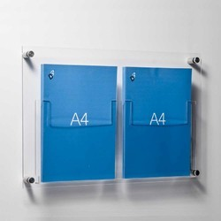 Acrylic Leaflet Holders