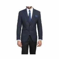 Plain Cotton Formal Men Blazer, Size: Medium