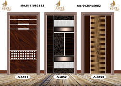Laminated Door Printed Skin Paper