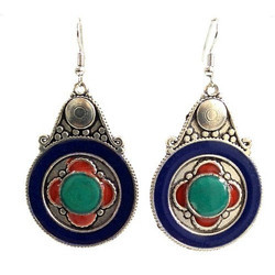 Ladies Stone Earring