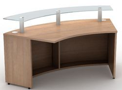 Curved Reception Table