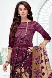 Baalar Zaara Vol-5 Printed Cotton Reasonable Range Dress Material Catalog