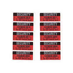 Security Seal Sticker