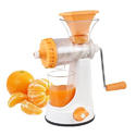 Orange Manual Fruit Juicer