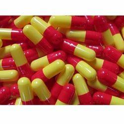 Yellow And Red Hard Gelatin Capsule, Packaging Type: Box