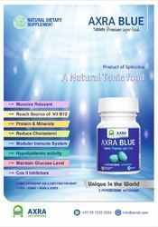 Axra Blue Tablet (spirulina Product)