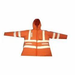 Orange Security Jacket