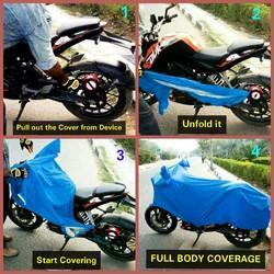 KTM Bike Automatic Motorcycle Waterproof Cover