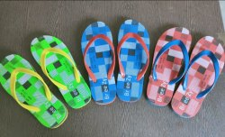 Men Daily wear Printed Hawaii Slipper, 16mm, Size: 6 To 9 / 7 To 10