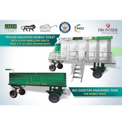 FSCMV-01 Mobile Toilet with DRDO Technology Bio- Digester Tank