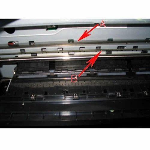 Installing an encoder strip hp deskjet