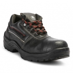 Bata Bora Black Safety Shoe