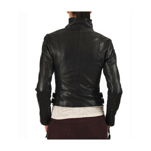 Black Ladies Leather Jacket Rs 3500 Piece New Fashion Style Id