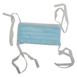 3 Ply Tie On Face Mask, For Used For Covering Mouth