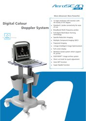 Portable Color Doppler/Ultrasound/Echo Cardiography Machine
