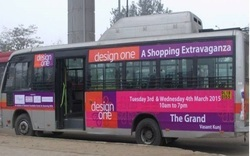 For Yes Offline Bus Branding Service, Yes, Mode Of Advertising: Outdoor