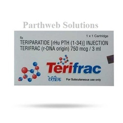 Terifrac 750mcg Injection