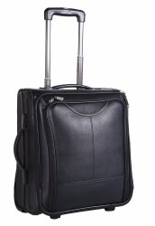 Black Leather Traveling Bag