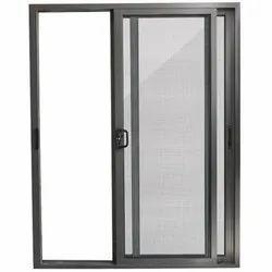 Aluminium White Aluminum Mesh Sliding Door