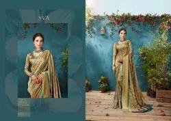 Casual Satakshi Designer Silk Sarees With Blouse Piece