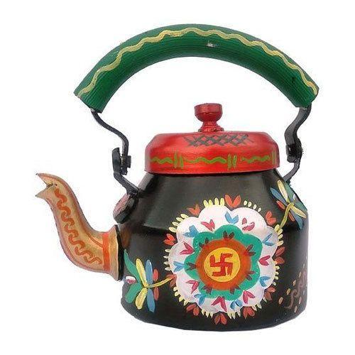 Printed Multicolor Decorative Tea Kettle Rs 550 Piece Indian