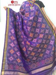 Single Ikkat Handloom Dupatta