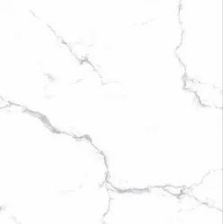 White Somany Ceramic Alvis Floor Tile, Thickness: 10-15mm