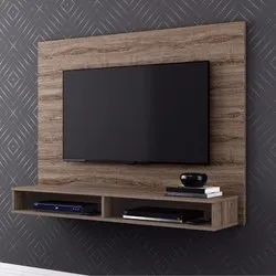 Sunny Overseas Modern Wooden Wall Mounted LCD Unit, For Home