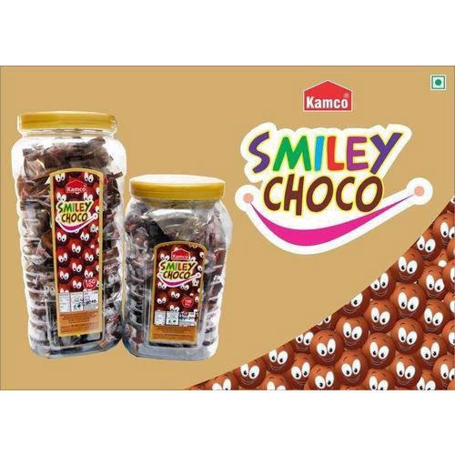 smiley choco candy