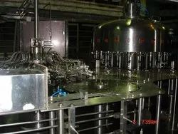 HOT JUICE FILLER MACHINE