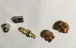 Plasma Cutting Nozzle And Electrode